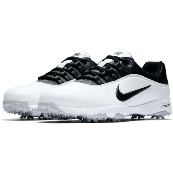 Nike Men s Air Zoom Rival 5 Golf Shoes White Black.  M 5ac2a09736b9de3e54f443ab 5ce9ec7d832